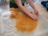 Stesura della lana